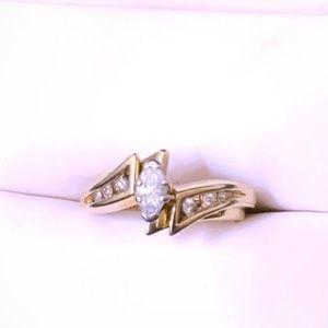 Ladies Wedding Set .50 TW 14k solid gold
